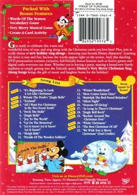 sing along songs very merry christmas